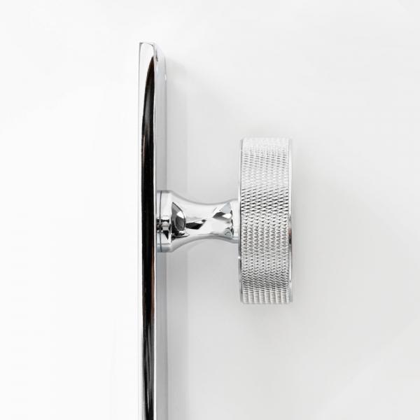 다이아 황동 전면손잡이 크롬 - KB F065 CR