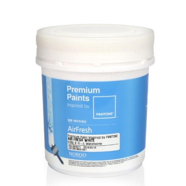 팬톤 에어프레쉬 공기정화 페인트 1L