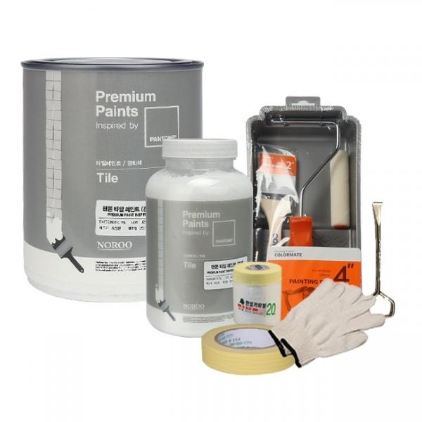 팬톤 타일 페인트 750ml 리폼 DIY세트