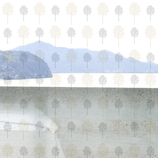 [윈도우 고급 투명필름]북유럽 스타일 GC 95