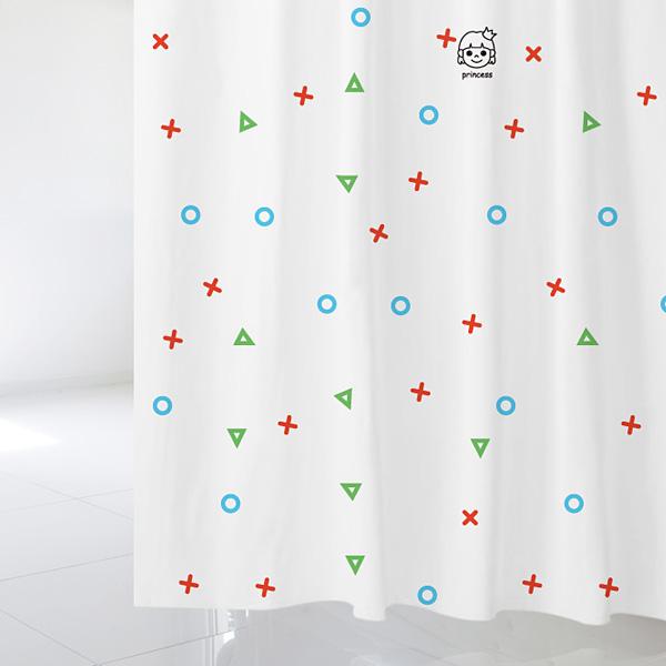 [샤워 커튼]키즈카페 여자화장실