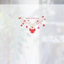 [무점착 창문시트지]크리스마스 스타일 NCCW06