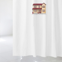 [샤워 커튼]스위트 하우스 07