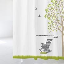 [샤워 커튼]자연이 머무는 품경과 나무 NSC 06