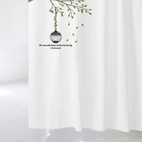 [샤워 커튼]자연이 머무는 품경과 나무 NSC 18