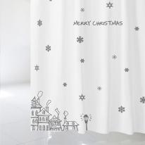 [샤워 커튼]크리스마스 샤워커튼 CSC 20