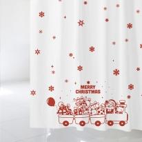 [샤워 커튼]크리스마스 샤워커튼 CSC 36
