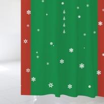 [샤워 커튼]크리스마스 샤워커튼 CSC 45