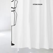 [샤워 커튼]화이트 피팅룸 A