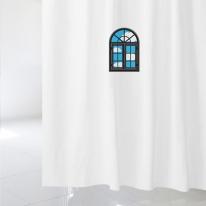 [샤워 커튼]블루 윈도우