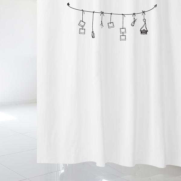 [샤워 커튼]빈티지 스타일 vsc 68