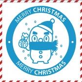 [그래픽 스티커] 선물폭탄 눈사람  외 5개
