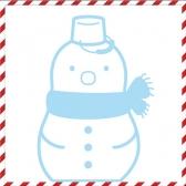 [그래픽 스티커] 크리스마스 행운의 눈사람 외 12개