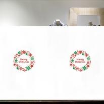 [불투명 창문시트]크리스마스 스타일 NTCCW03