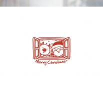 [불투명 창문시트]크리스마스 스타일 NTCCW04