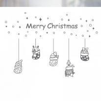 [불투명 창문시트]크리스마스 스타일 NTCCW24