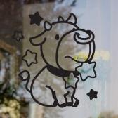 [그래픽스티커] 소 별자리 빅아이콘