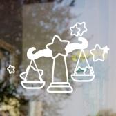 [그래픽스티커] 천칭 별자리 빅아이콘