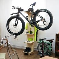 JWK 바이크 스테이션 bike station 자전거거치대겸 다용도 수납장겸 옷장