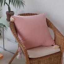 Pink Linen Tassel