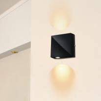 브라우니벽등 (LED내장,방수등) (화이트,블랙)