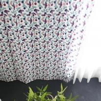 베리머치 꽃무늬 작은창 커튼