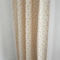 마들렌 꽃무늬 작은창 커튼