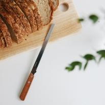 일본 우드핸들빵칼