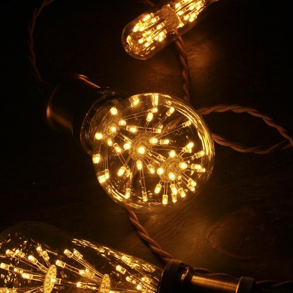 LED눈꽃에디슨전구 G80