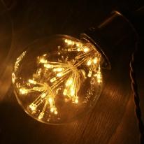 LED눈꽃에디슨전구 G95