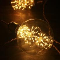 LED눈꽃에디슨전구 G125