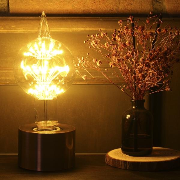 LED눈꽃에디슨전구 에일리언