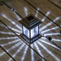 태양광 LED 정원등 / 걸이형 / 화이트 / 900mAh