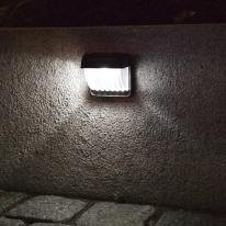 태양광 LED 정원등/가든램프(1LED/White) 벽면 거치형 / LED 램프