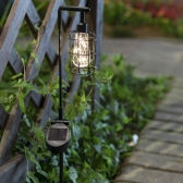 태양광 LED 정원등 / 가로등형 / 웜화이트 / 600mAh