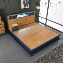 [버플리] 탐펠 빅사이즈 원목 침대
