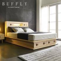 [버플리]명작 프리미엄 편백 원목 퀸 침대