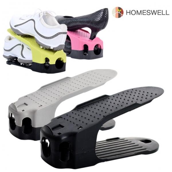홈스웰 슈즈랙 신발정리대 블랙 20P