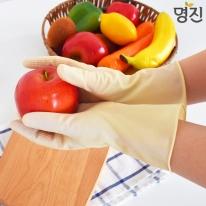 명진 단미니 고무장갑 (10켤레) S/L