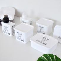 화이트 리필 용기 (액체용, 고체용, 다용도)