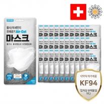 에어컷 황사마스크 KF94 소형 30개(개별포장)
