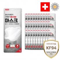 에어컷 황사마스크 KF94 대형 30개(개별포장)