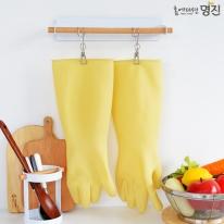 명진 식품용 도토미 고무장갑 XL (41cm)