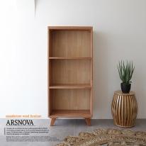 아르스노바 하드우드 켐파스원목책장 3단 600