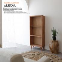 아르스노바 하드우드 켐파스원목책장 3단 400