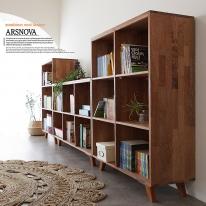 아르스노바 하드우드 켐파스원목책장 3개세트