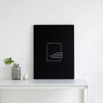 [하우스레시피] E0 레터링 접이식 테이블 ver.2
