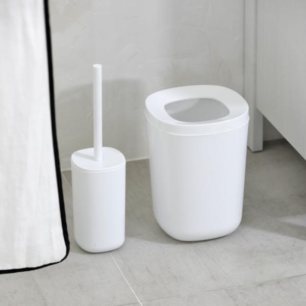 [바이홈] 모노 욕실 휴지통(5.3L)