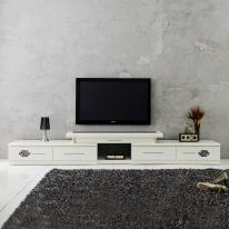 TV거실장세트 2200 확장형 티비장식장 TV다이