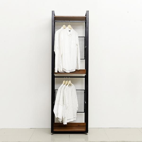 스틸 3단 600 드레스장 철제옷장 장롱옷걸이